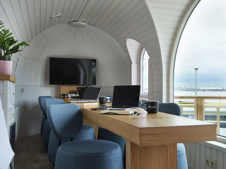 Igluoffice interior